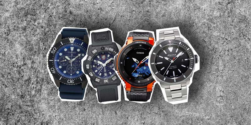 Men's watches for outdoor use: fashionable & functional