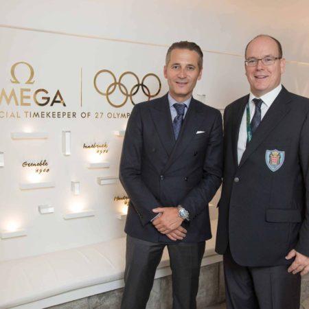 Prince Albert of Monaco and Oscar winner Eddie Redmayne will celebrate Omega @ Rio, Olympia