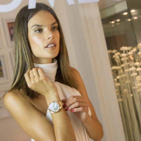 """Supermodel Alessandra Ambrosio @ Olympia """"Gold Night"""" im OMEGA House in Rio"""