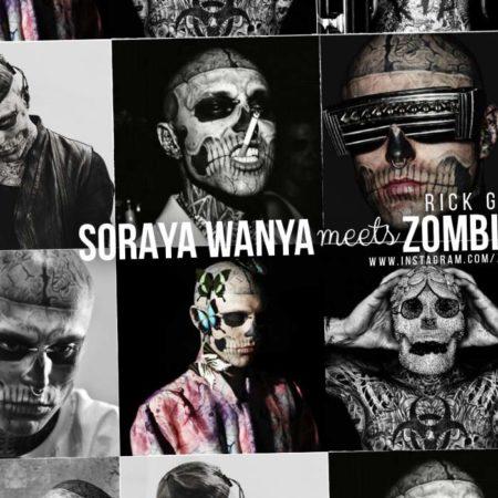 Zombie Boy / Rick Genest Interview with Soraya Wanya