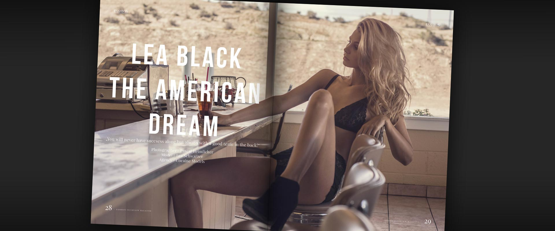 Lea Black & Pascal Heimlicher life the American Dream in California