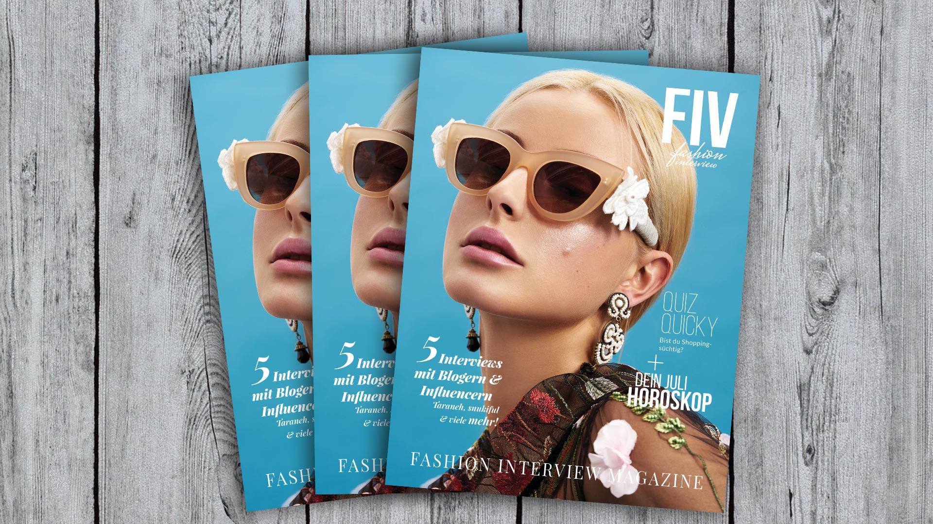 FIV Magazine #3 July - Blogger, Editorials, Column, Horoscop, Quiz and more!