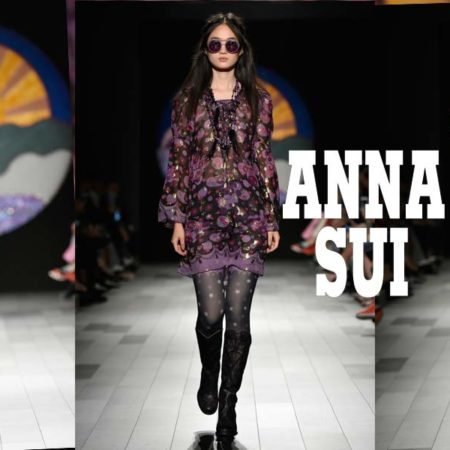 Anna Sui: Bohemian Styles and Flower Child Vibes