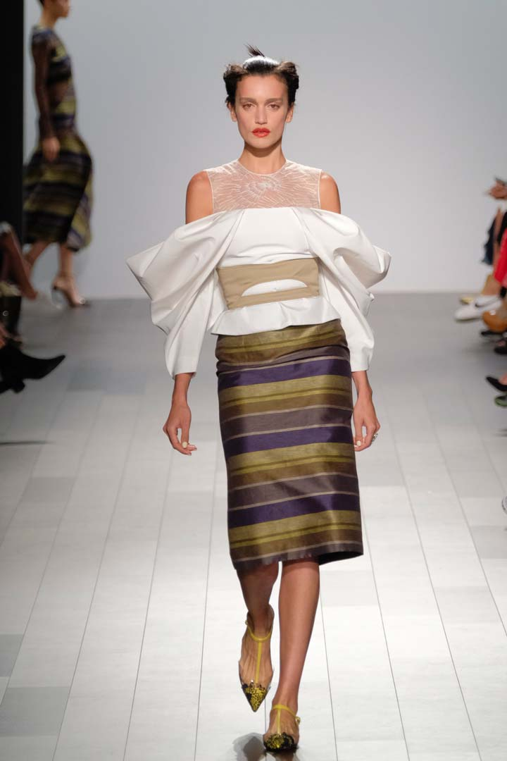 Bibhu Mohapatra: High Fashion Dresses NYFW