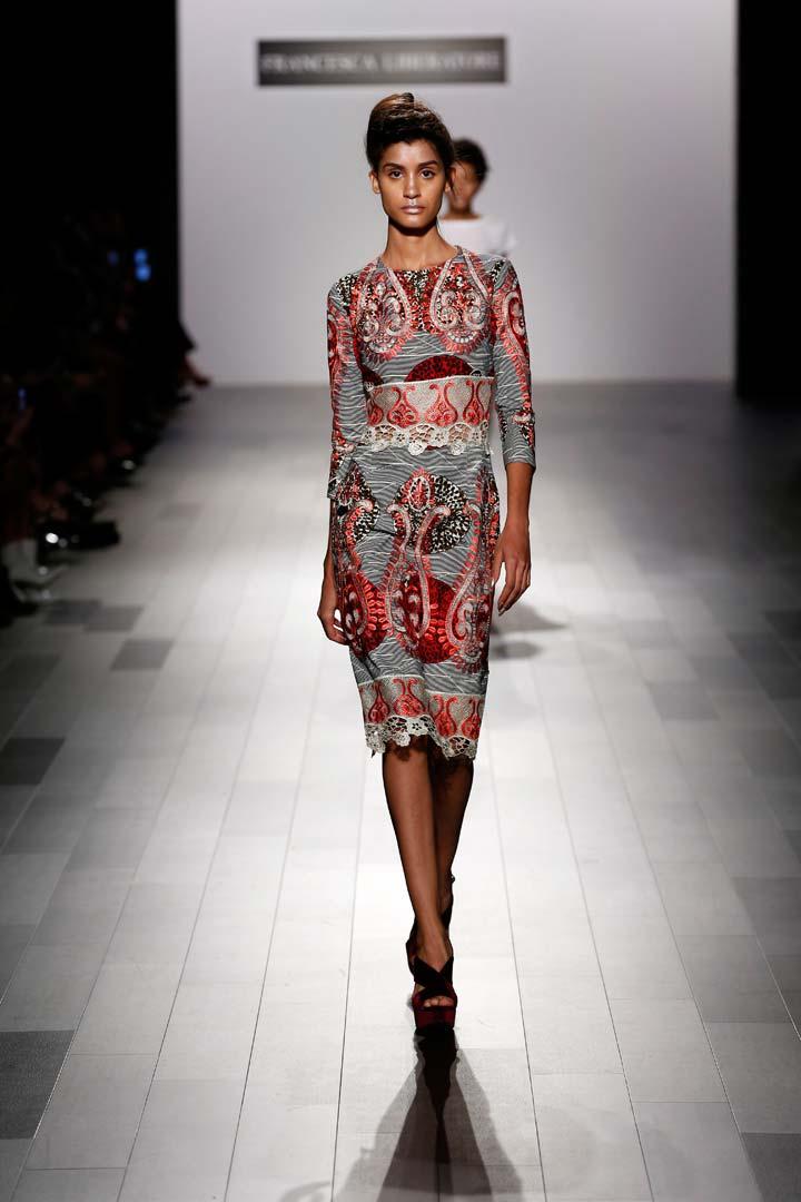 Francesca Liberatore Beautiful Prints And Dresses Nyfw