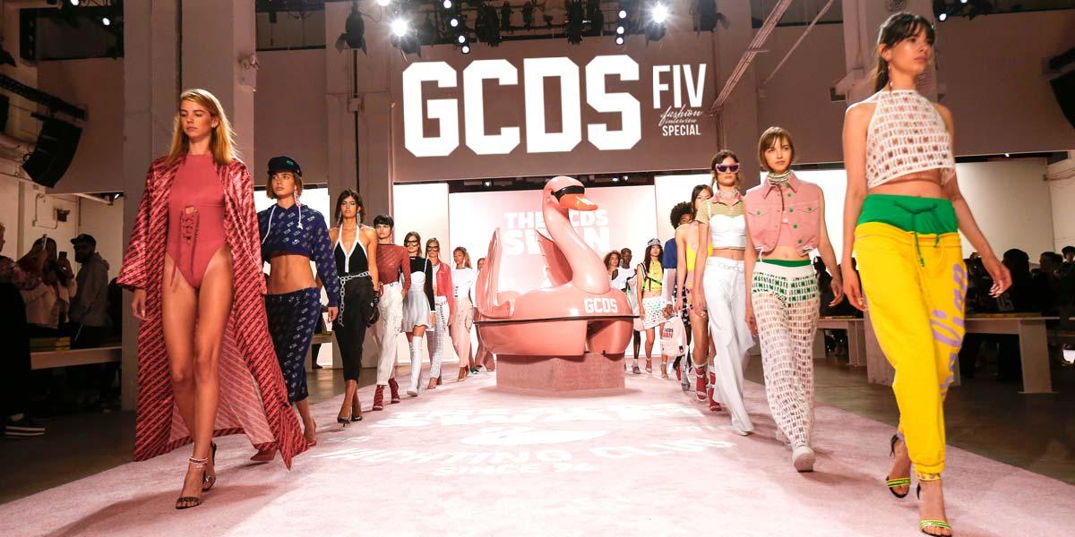GCDS: Colorful, Edgy Designs at Fashion Week
