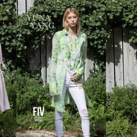 Yuna Yang: NYFW Casual Outdoorlooks