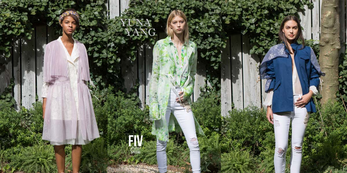 Yuna Yang: NYFW Casual Outdoorlooks - FIV Magazine: Fashion