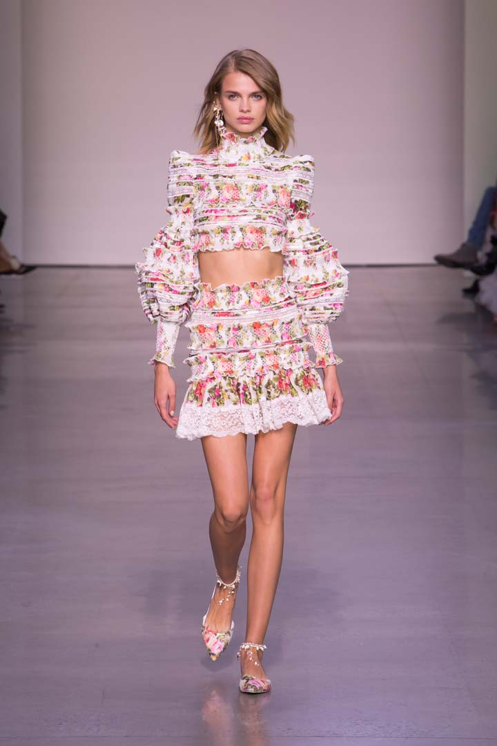 Zimmermann: Feminine Dresses New York Fashion Week