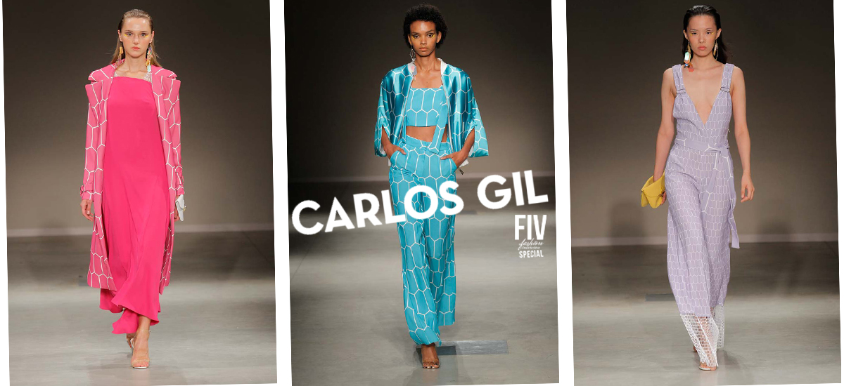 Carlos Gil: Urban Clothes with Sensual Colors of Fashion Week Milan SS18