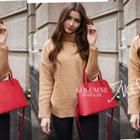 Trend Guide - Red Bags and how to combine them