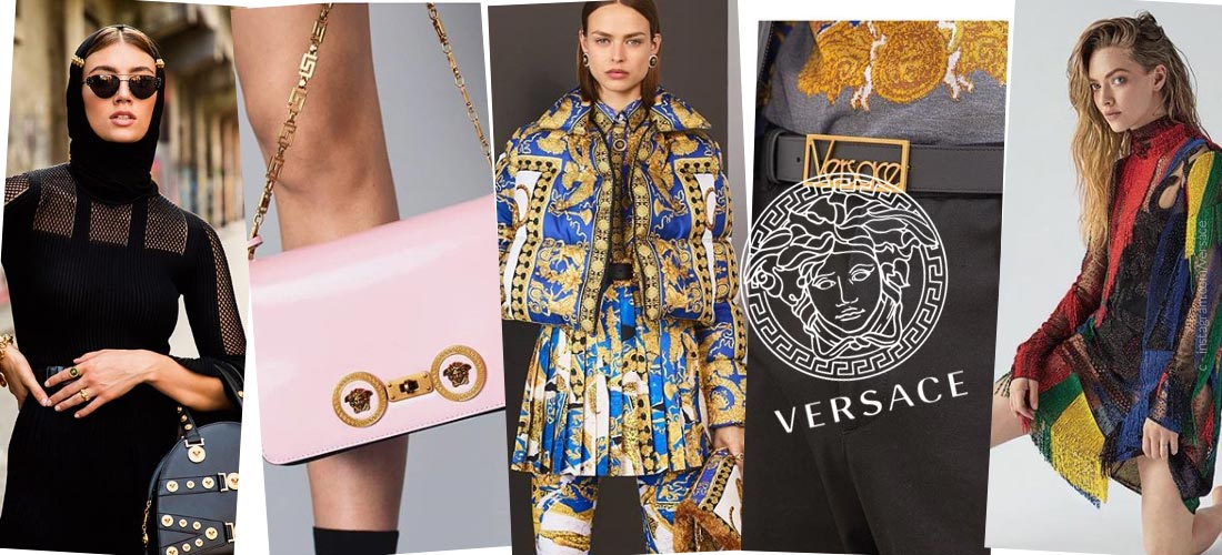 Versace - the luxury label of Gianni and Donatella