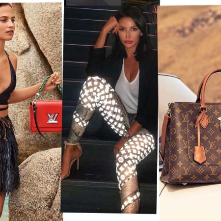 Louis Vuitton - the French luxury brand