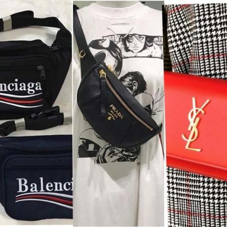 Retro-Statement - Luxury brands present fanny packs