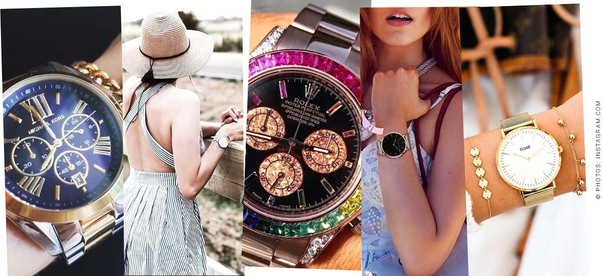 Luxury ladies watches