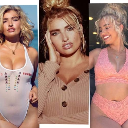 Sarina Nowak - From the unhappy average model to the successful Curvy Model