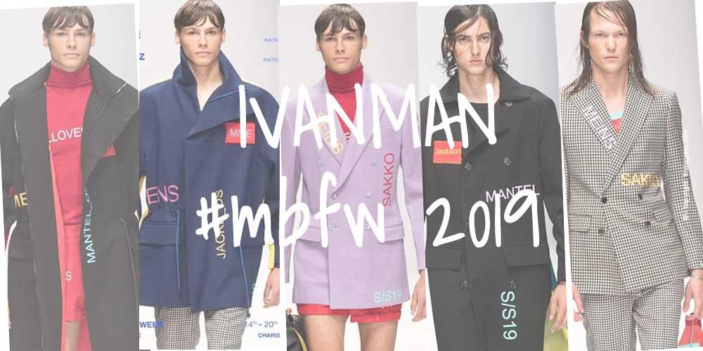 IVANMAN: Men's fashion from the capital - Fashion Week Berlin