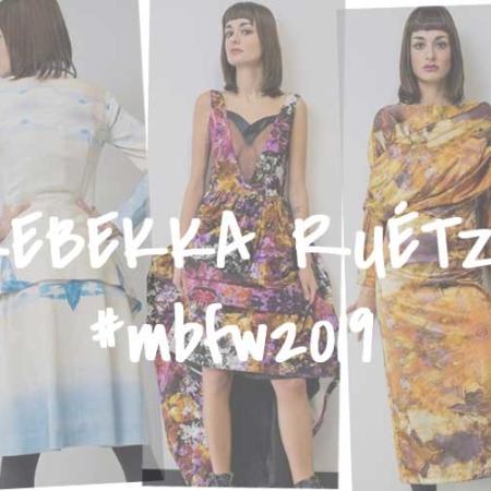 rebekka ruétz - FASHION WEEK BERLIN 2019