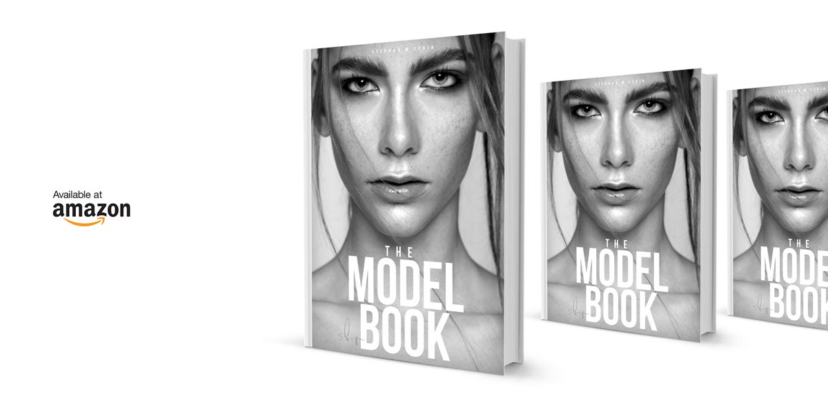 THE MODEL BOOK - Become a model... Now in the book trade