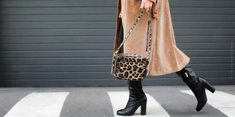 Animal patterns: Fashion trends - jacket, shoes, coats & co.