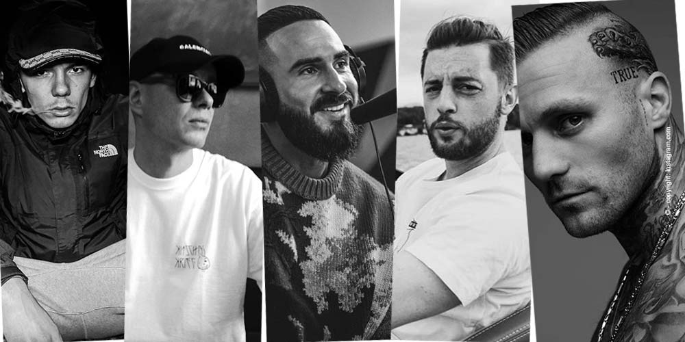 Top 5 - known rappers Germany