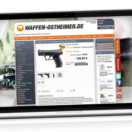 CO2 gun cheap?! Buy weapons online: Comparison Walther CP99