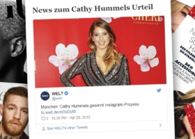 Cathy Hummels wins trial in Munich: Advertising on Instagram – Judgement