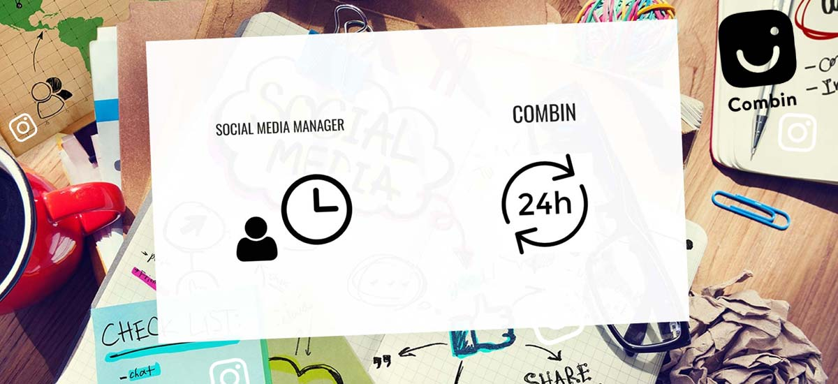 Combin: Digital Social Media Manager - Software for Interaction and Followers