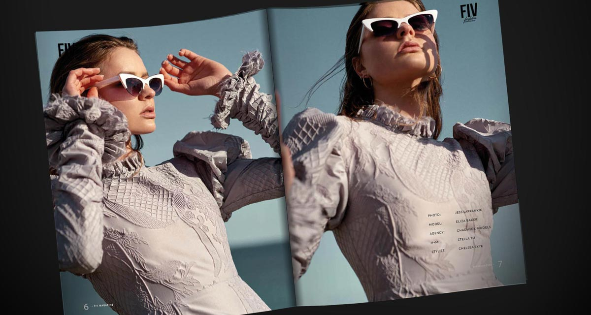 Jess LaFrankie: Cool breeze - Summer look