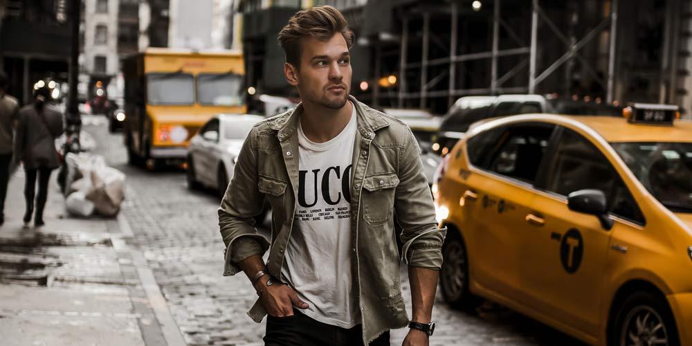 Jonas Maier: Influencer & male model - fashion, lifestyle, fitness & travel