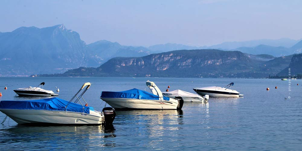 The largest lake in Italy: Lake Garda - Camping & Holidays