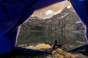 Living & Sleeping XXL: Camping in tents, caravans & camper
