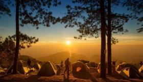 Camping in tents: Sleeping bags, Sleeping mats & Hammocks