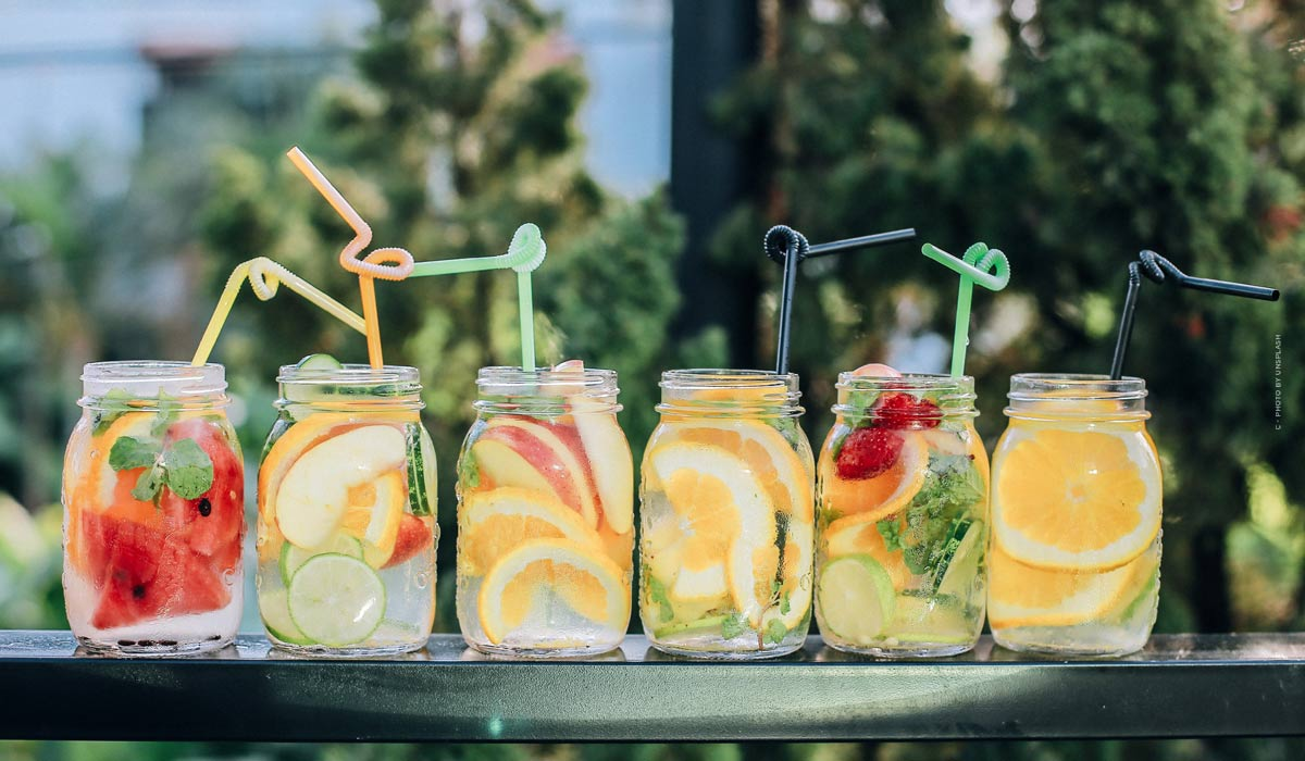 Delicious & simple drinks for the summer: to make yourself, with and without alcohol!