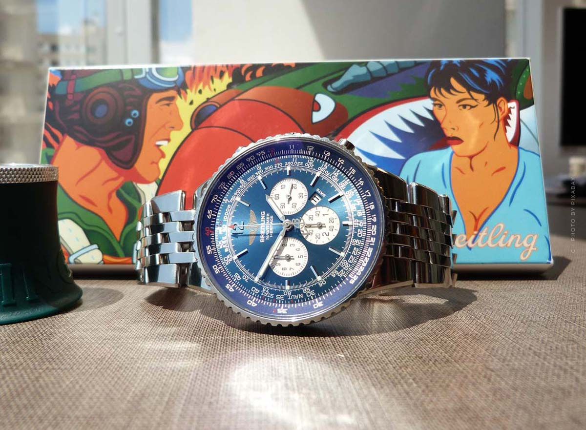 Breitling Navitimer: Pilot's watch with a special dial for men and women