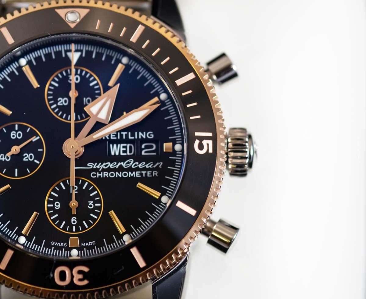 Breitling Superocean: Diving watch for men & women - design, chronograph, prices