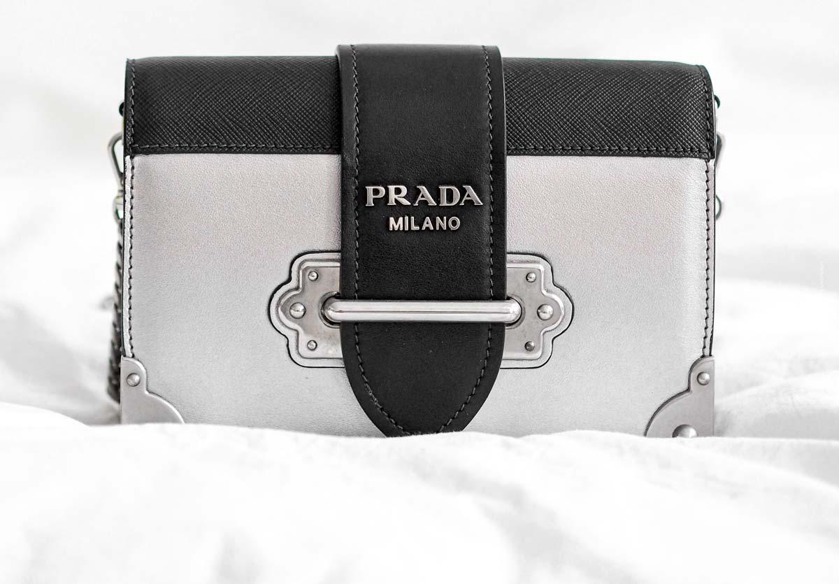 Prada: Nylon and precious Saffiano leather in bag form - Mini, Shoulder and Co.