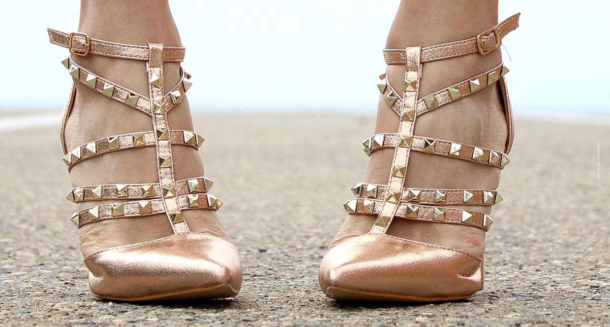 Valentino Rockstud Shoes: Studded Strappy Pumps, Slingbacks, Sneakers and Ballerinas