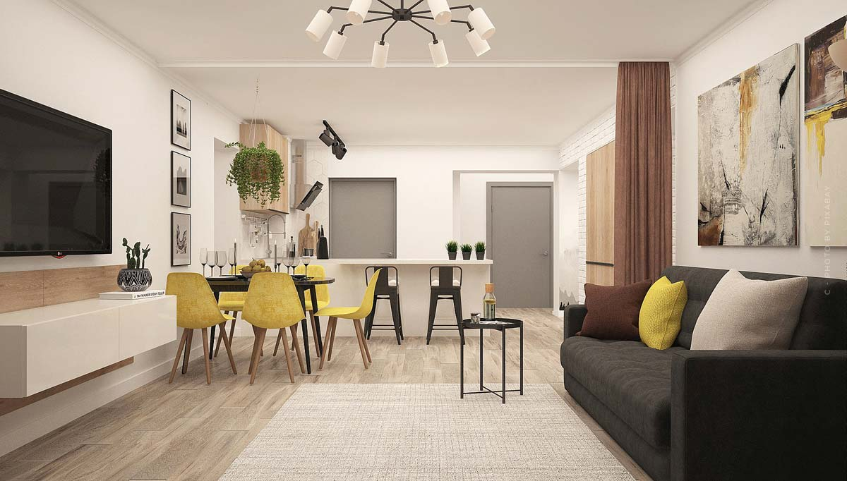 Apartment: charming small apartments for singles, students and seniors