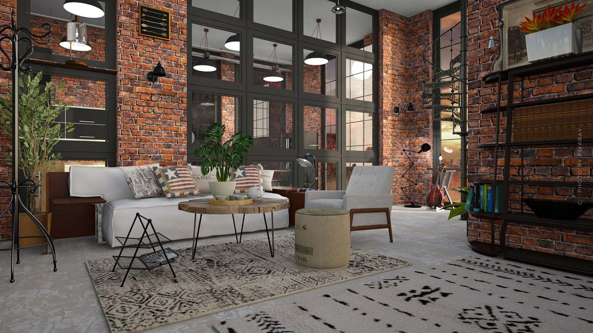 Loft apartment: buying, renting and living - how old factories become luxurious apartments