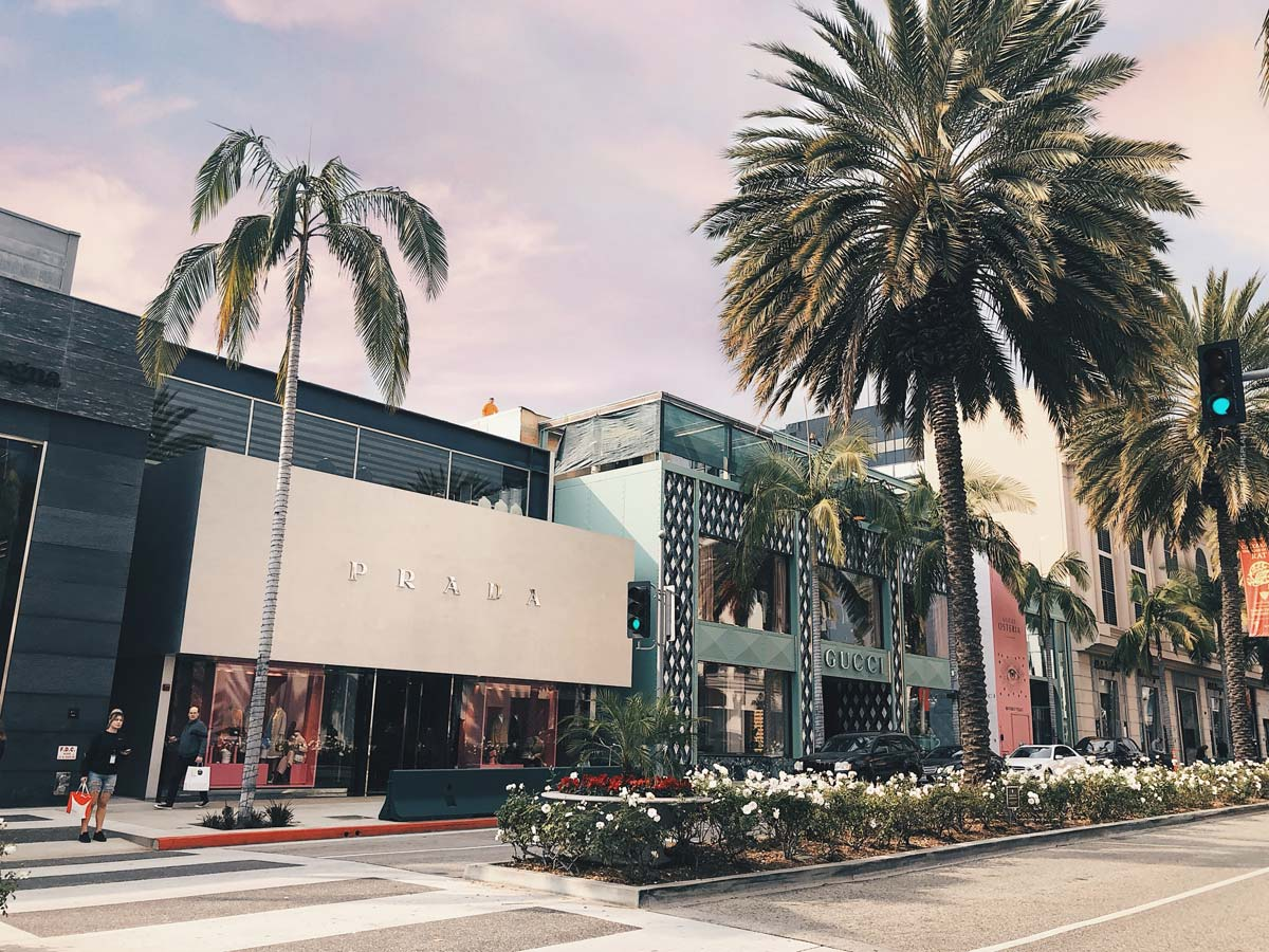 Luxury Shopping Los Angeles (15 Stores): Bulgari, Balmain, Rolex and Co.