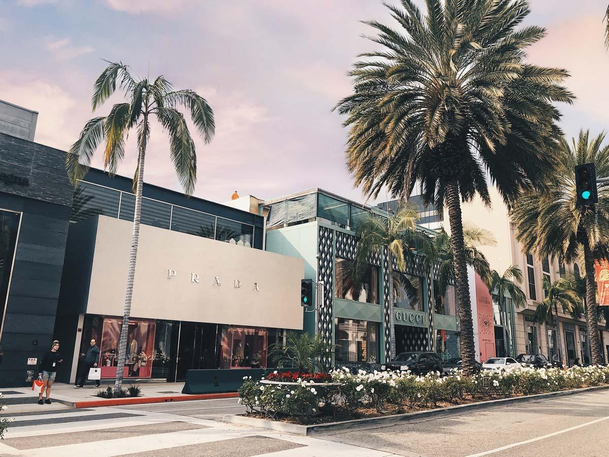 Luxury Shopping Los Angeles (15 Stores): Bulgari, Balmain, Rolex and Co.