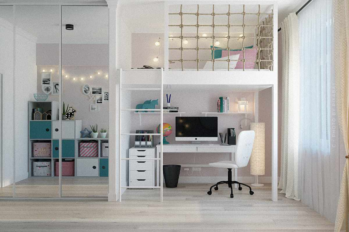 Furnish a child's room: Ideas for designing with colourful furniture, lamps, pictures, decoration and co.