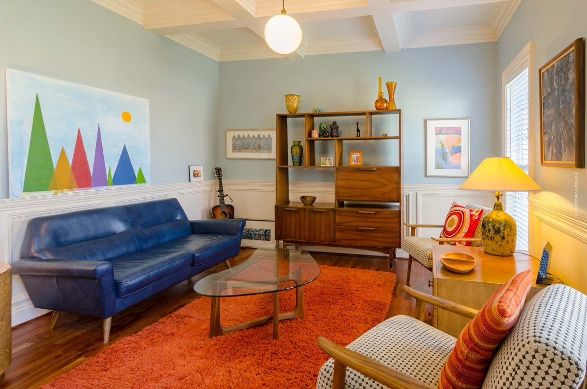 Retro & vintage furnishing: Furnish in 50s, 60s or 70s style with furniture, lamps and carpets