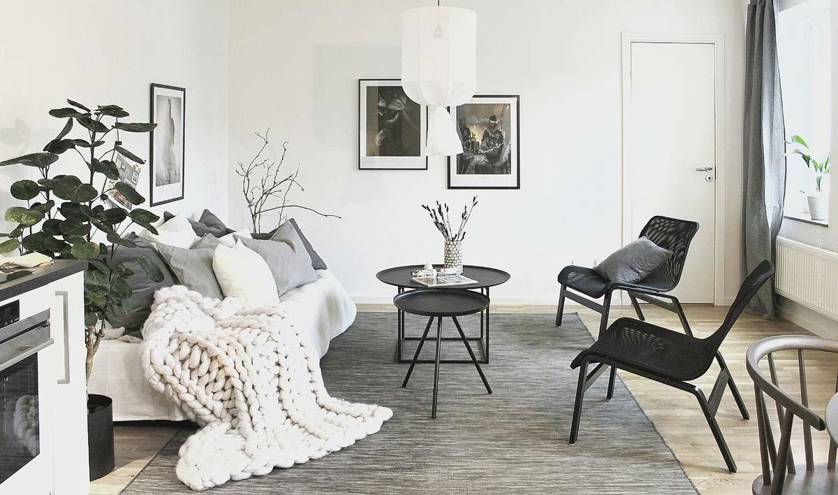 Skandi style: Furnishing in the trendy Scandinavian look or Scandi style, tips & ideas