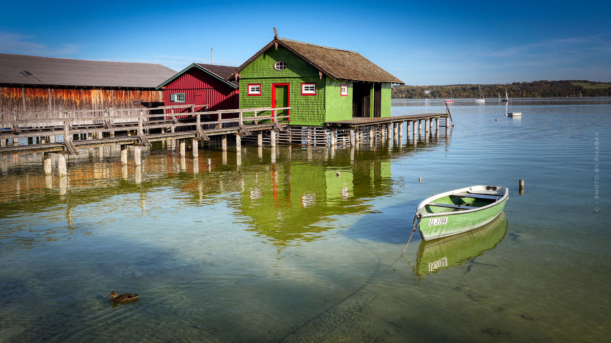 Holidays at the Ammersee: temperatures, activities and the most beautiful cities