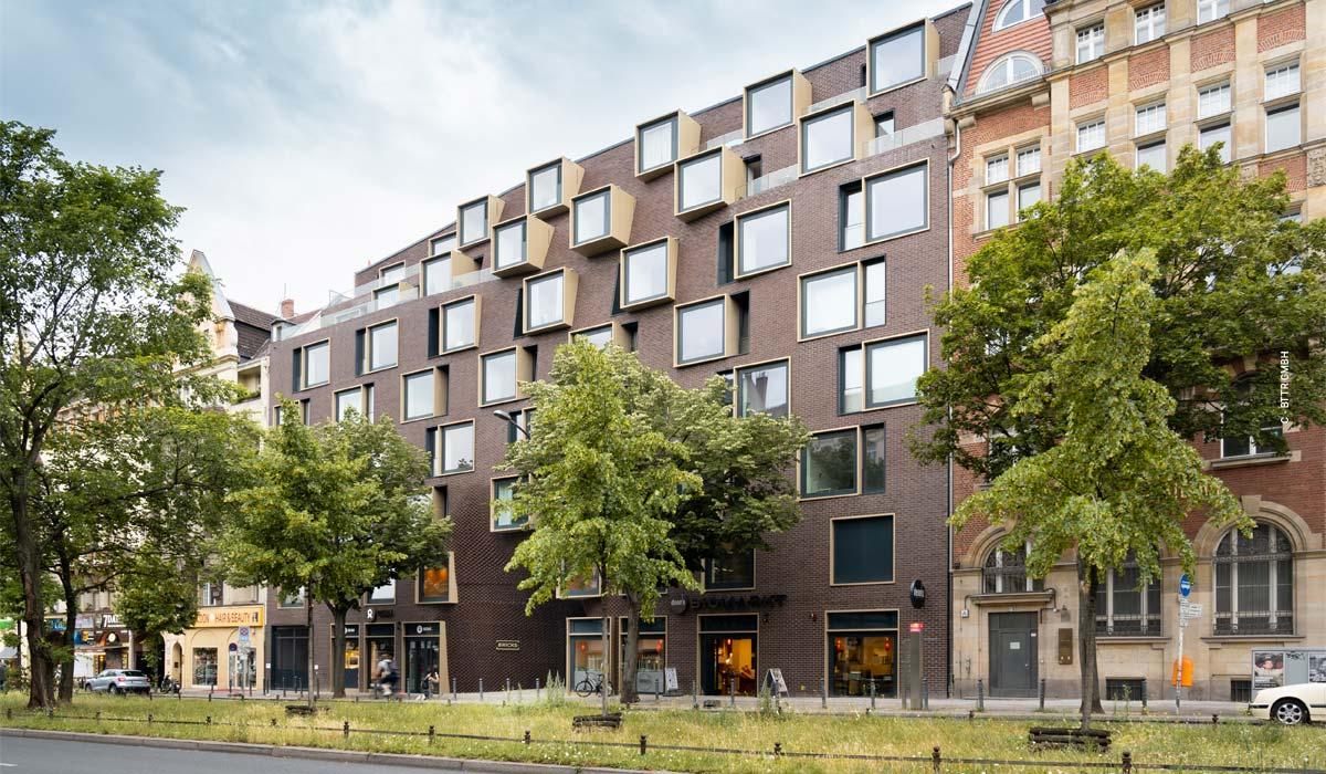 Bricks Schöneberg - residential & commercial quarter by Graft Architekten in Berlin Mitte