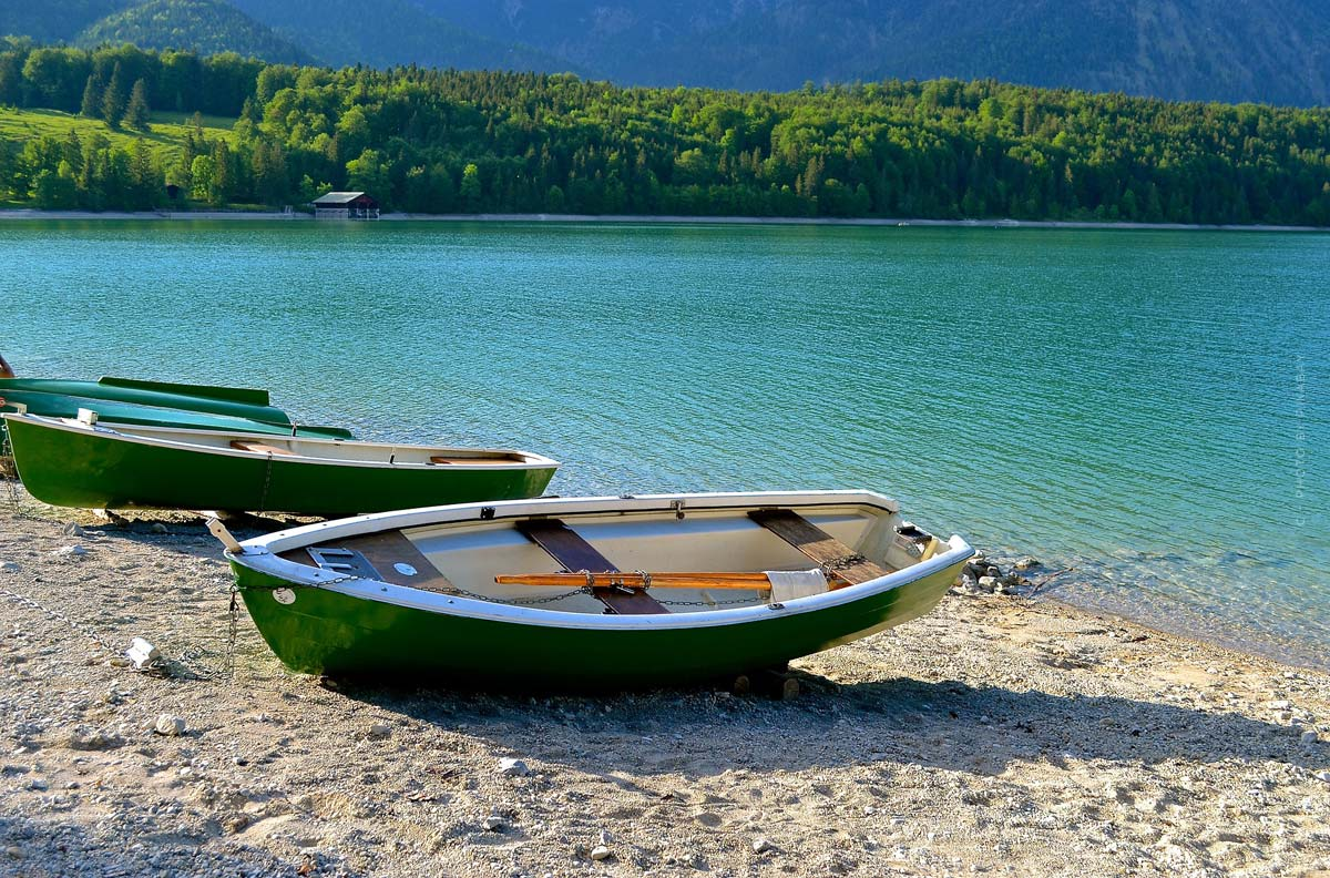 Walchensee: camping, surfing & swimming holidays in Germany
