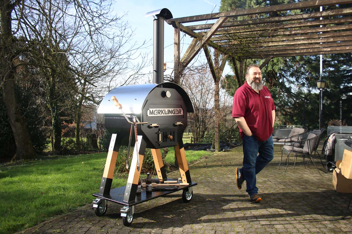 Merklinger Grill & Wooden Oven: Meat, Pizza, Bread and Made in Germany - Tip from the Grill World Champion!