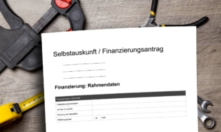 Self-disclosure for the bank: buying a house & apartment – Sparkasse, Volksbank & Co.